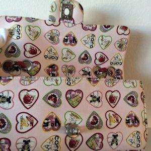 CHANEL Bags - Chanel Classic Flap Hearts Shoulder Bag